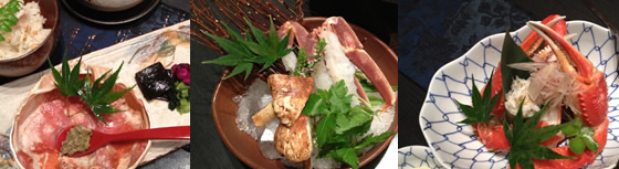カニ料理蟹懐石